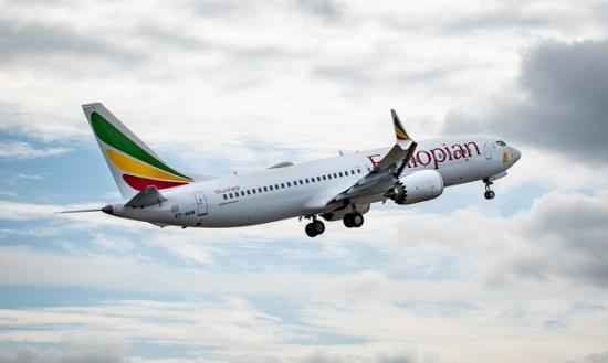 Ethiopian Airline - boeing 737